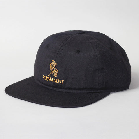 Permanent x Village Psychic 6 Panel Hat - Black