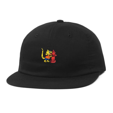 Butter Goods Ratboy 6 Panel Hat - Black