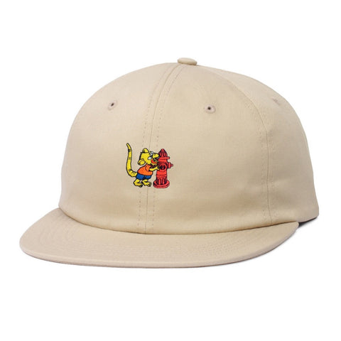 Butter Goods Ratboy 6 Panel Hat - Khaki
