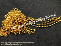 Gold chain for Jewellery making