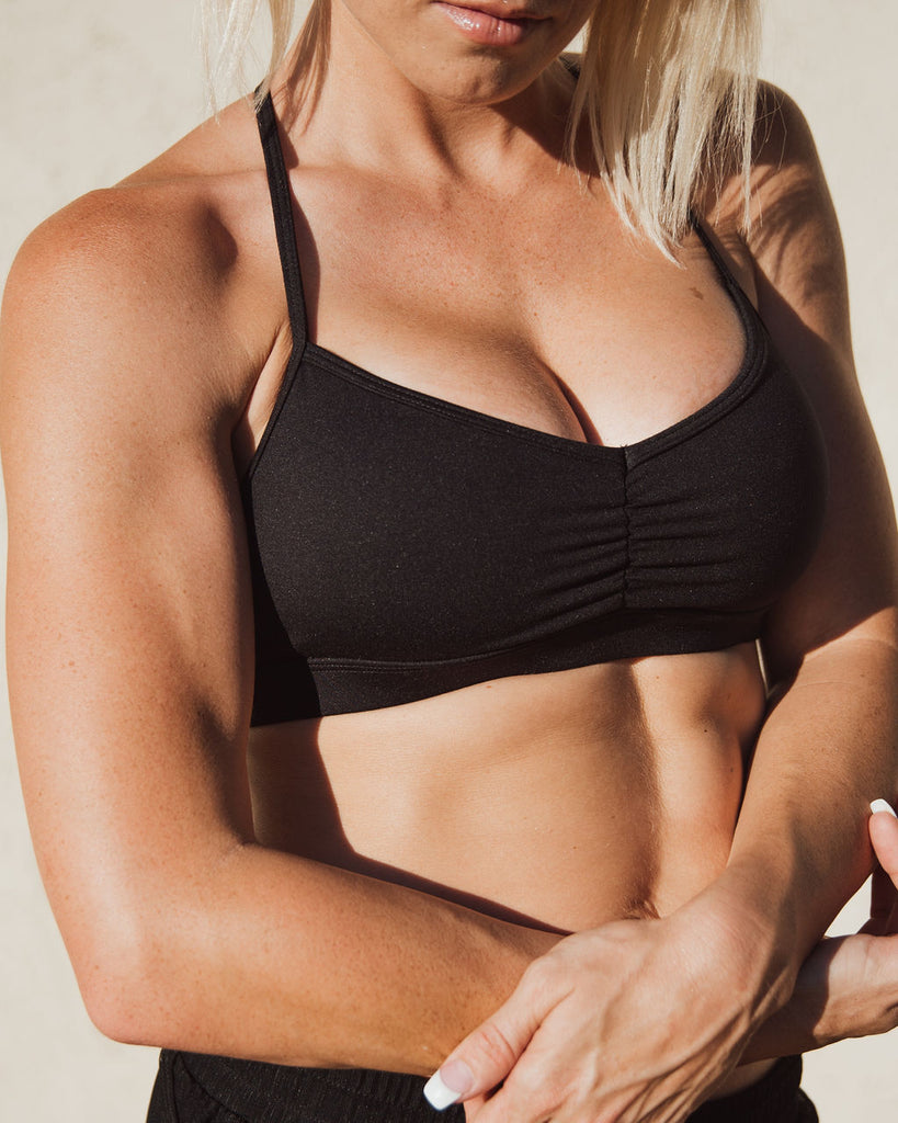 STRENGTH pinched bra