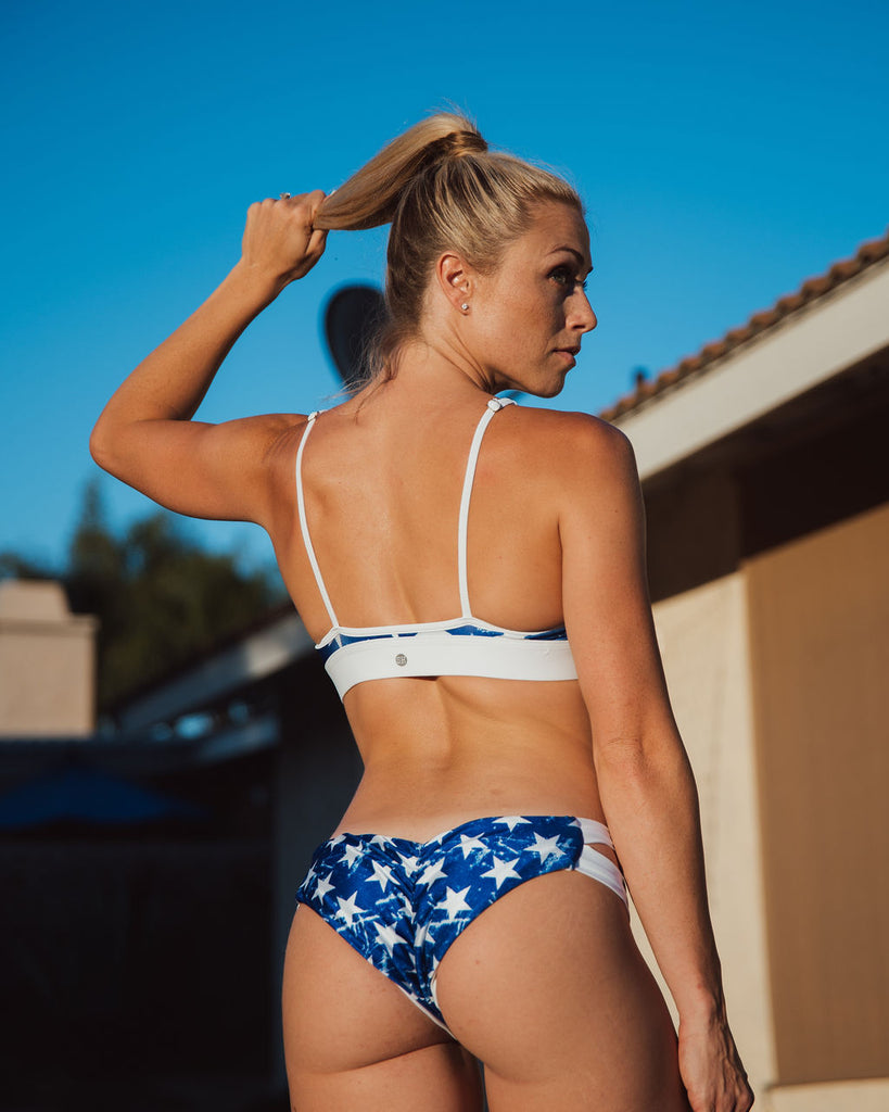 OLD GLORY strapped bottom