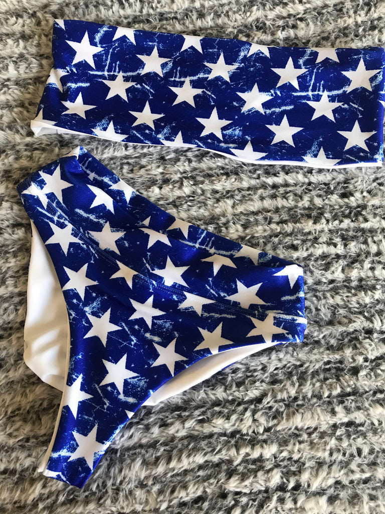 OLD GLORY bandeau top