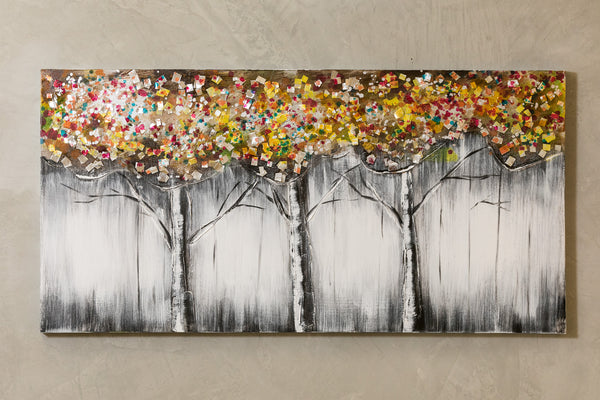 "Artistique - 24"" x 48"" Three Trees"