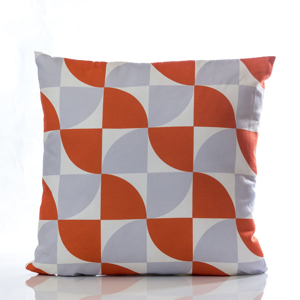 "Natura Pillow - Orange Combination 18"" x 18"" - Casa Febus - Home • Design"