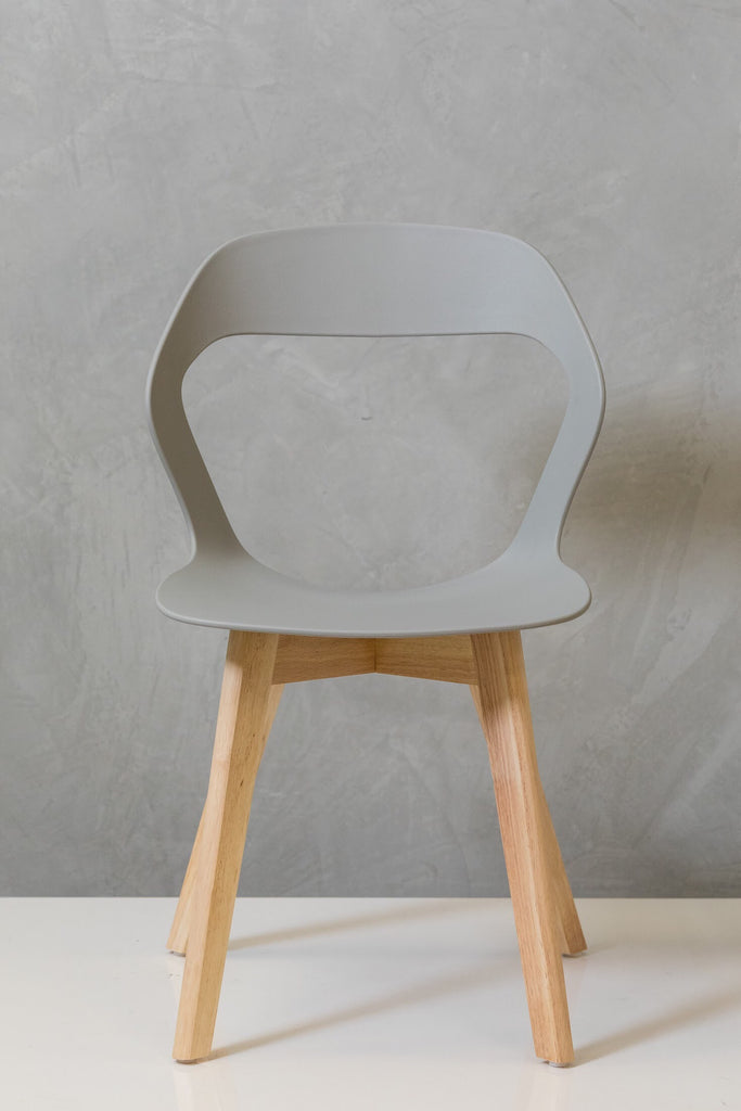 "33"" Moderni Chair - Gray"