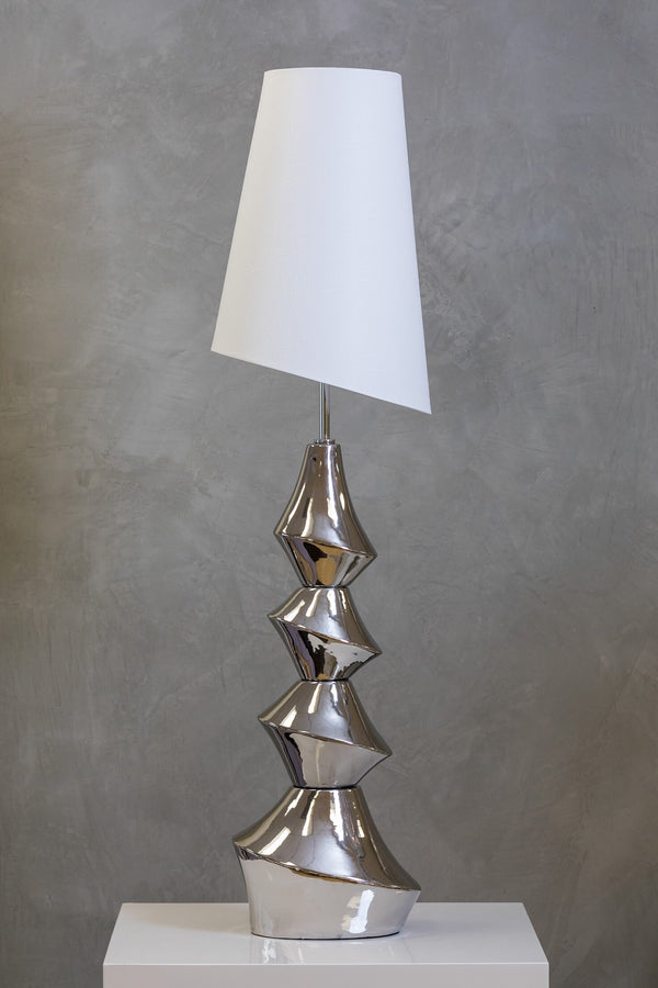 "60"" Nouveau Floor Lamp Too - Silver"