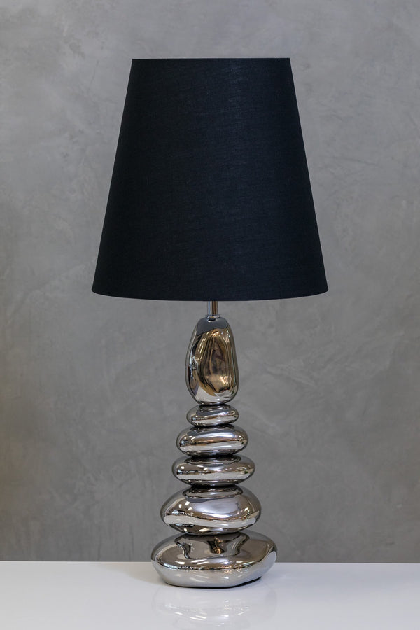 "30"" Nouveau Table Lamp - Silver"