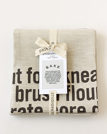 Bake Tea Towel package