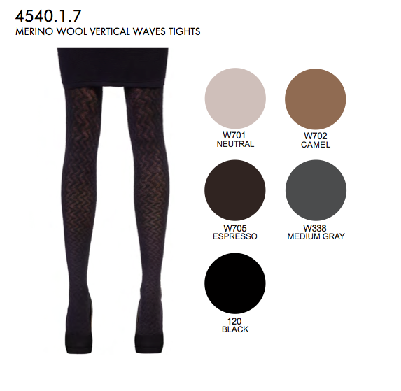 SHEER TIGHTS WITH HEATHERED ANIMALIER