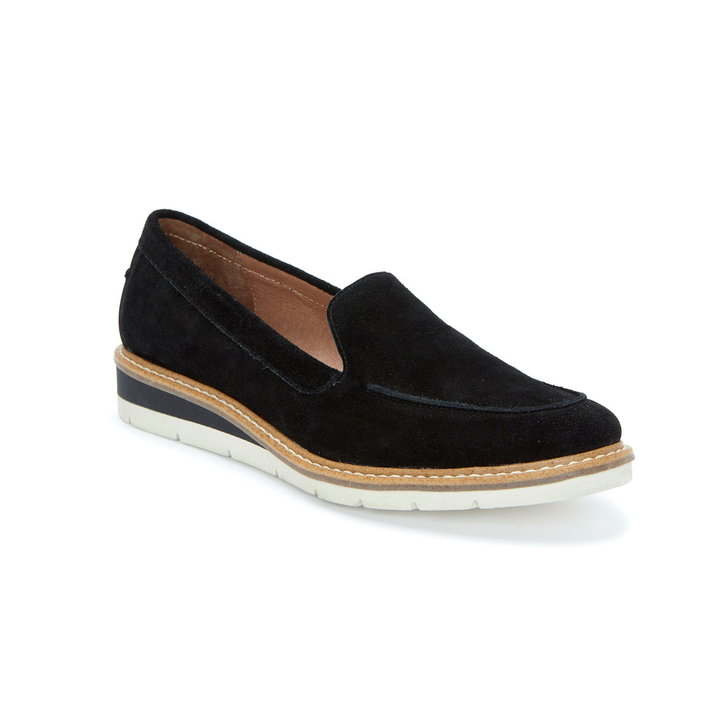 Athens Black Suede -  Loafer - Adam Tucker