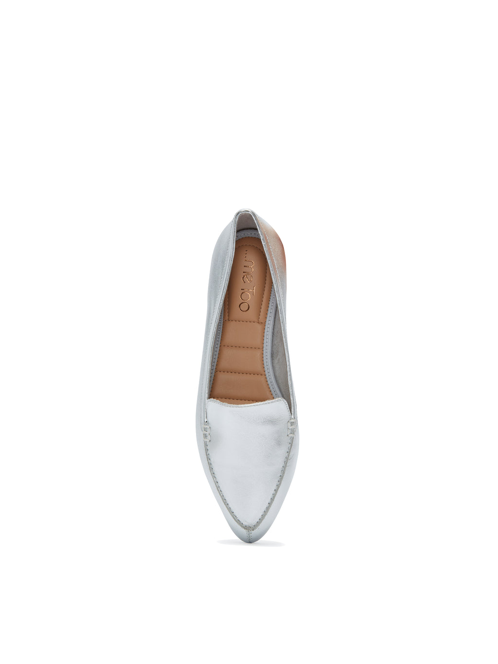Audra Silver w/ White Bottom -  Loafer - ...me Too