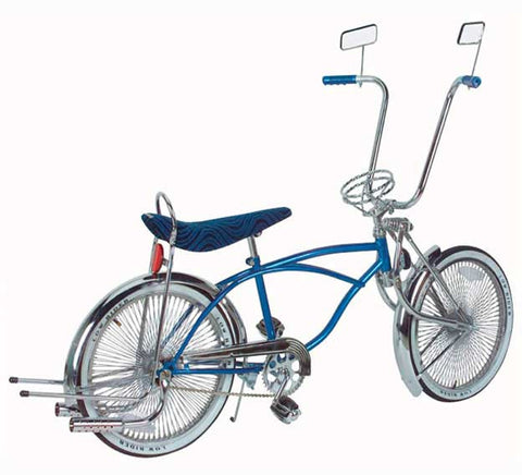 "Picture of 20"" Lowrider Bike Blue 538-3."
