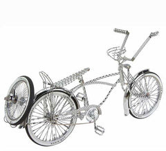 "20"" Lowrider Bike All Twisted Chrome."