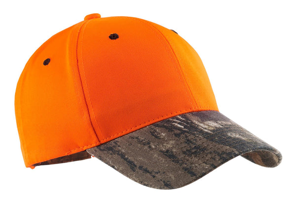 Top Headwear Enhanced Visibility Cap w/ Camo Brim