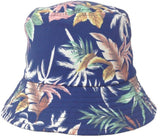 Tropical Poly-Cotton Floral Bucket Hat