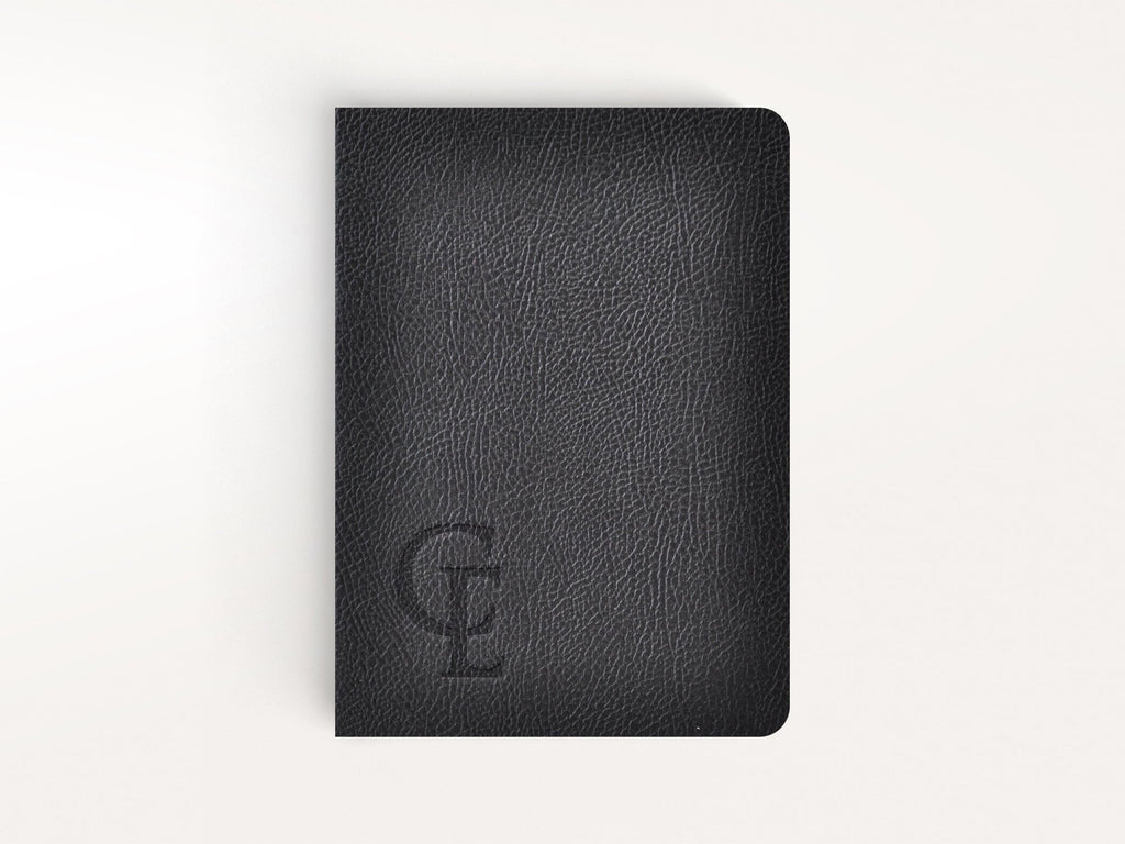 Ciak Mate Slim Softcover Notebook - Black