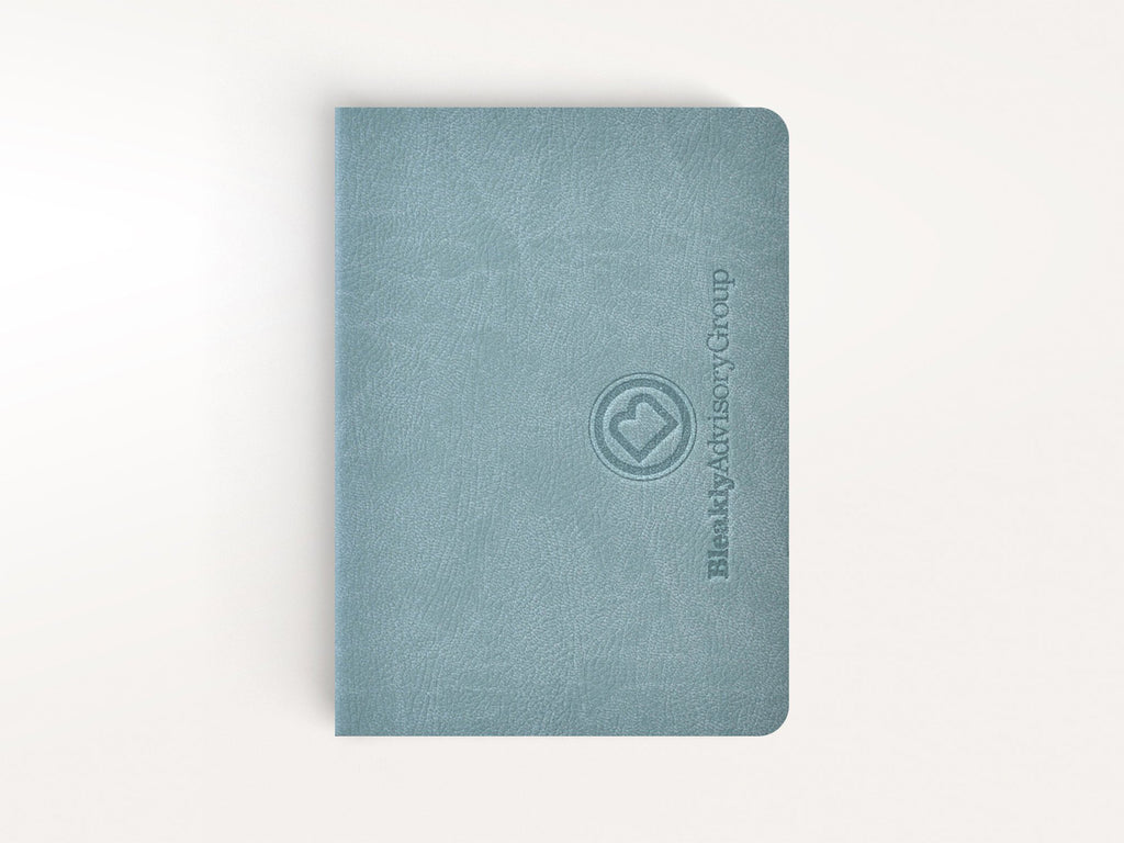 Ciak Mate Slim Softcover Notebook - Aqua
