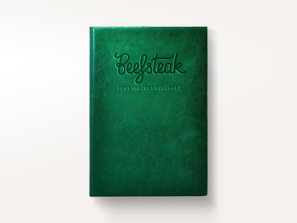 Harborview Leather Journal - Emerald-Notebooks-JB Custom Journals