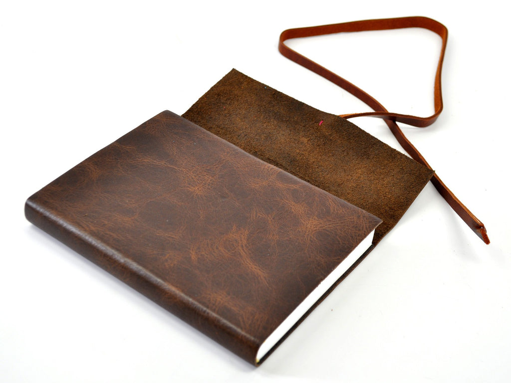 Santa Fe Leather Wrap Journal-Notebooks-JB Custom Journals