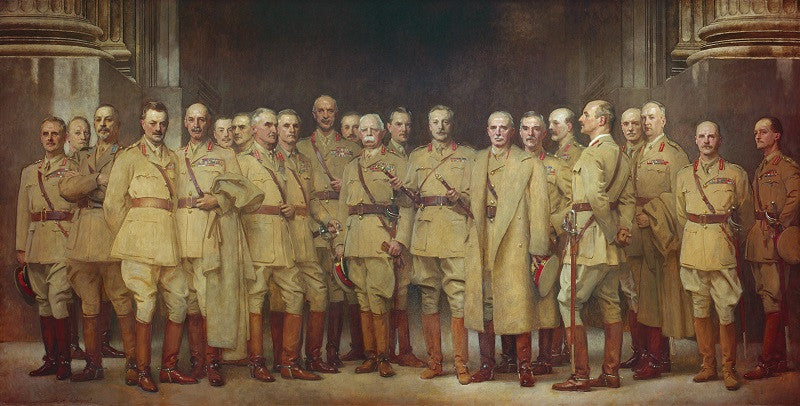 General Officers of World War I NPG 1954 Portrait Print