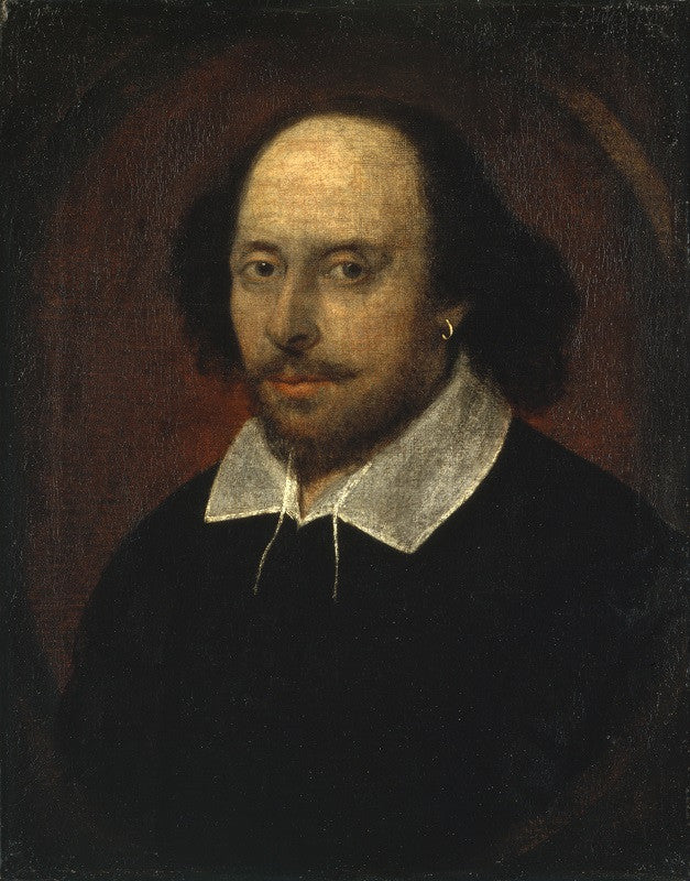 William Shakespeare NPG 1 Portrait Print