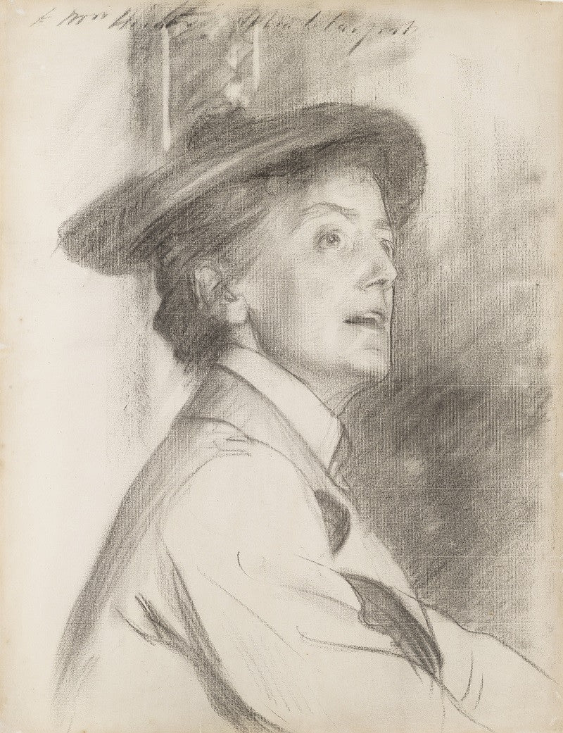 Dame Ethel Mary Smyth NPG 3243 Portrait Print