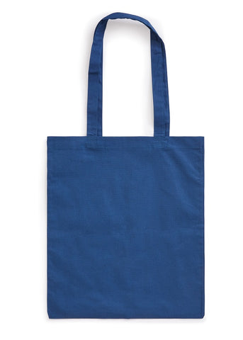 Dark Blue National Portrait Gallery Logo Tote Bag