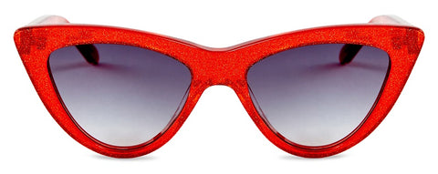 Red Glitter Sunglasses