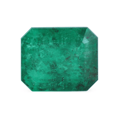 1.54 Emerald-Cut Mined Emerald