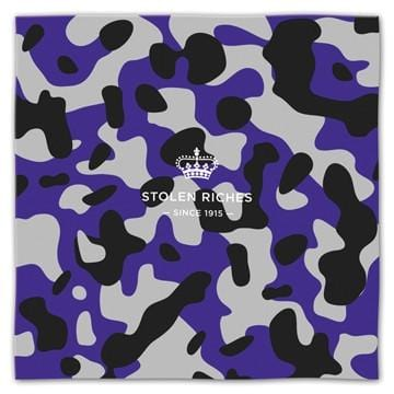 "Camo Purple - Pocket Square (13""x13"") - Stolen Riches"
