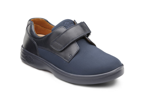 Dr. Comfort Blue Annie Women's Shoe (Velcro) | Diabetic Shoes | Orthopedic Shoe