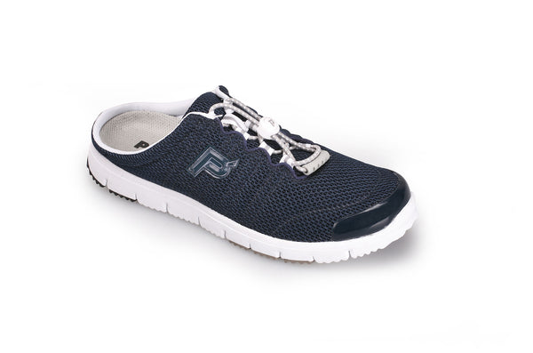 Navy Mesh Propet W3230 TravelWalker Slide Women's Shoe- Diabetic Shoes