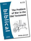 Cover: B 25 The Problem of War in the Old Testament