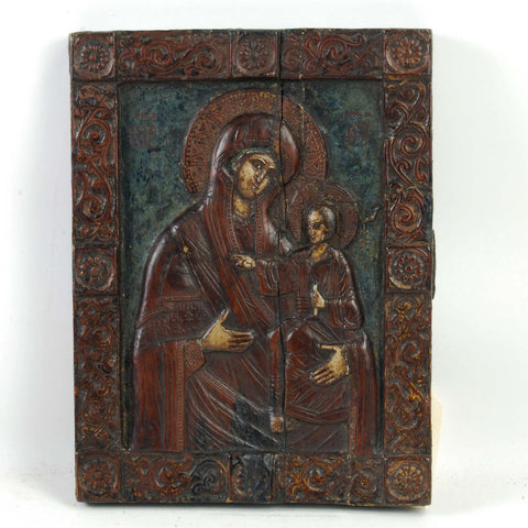 Carved Icon