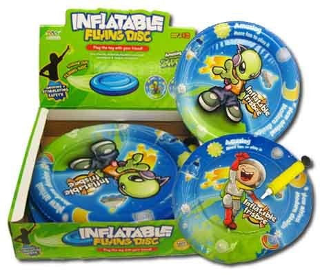 Inflatable Flying Disc