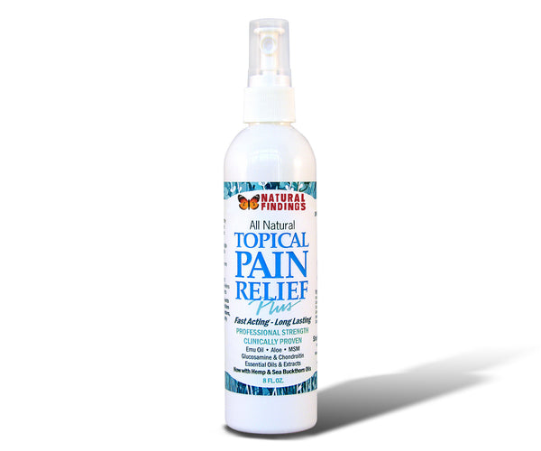 Natural Findings Topical Pain Relief Plus 8oz