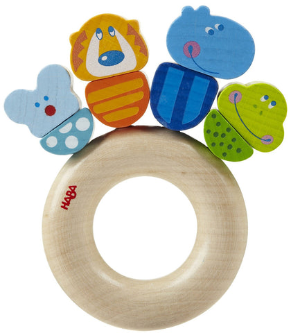 Haba Clutching Toy Jungle Caboodle