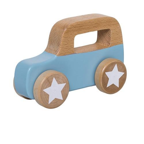 Bloomingville Mini Push Along Car - Sky Blue