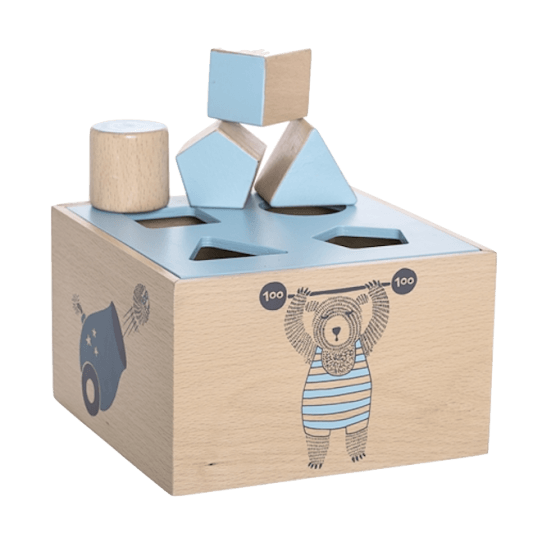 Bloomingville Mini Circus Intelligence Box (Blue)