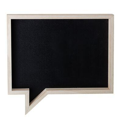 Bloomingville Mini Speech Bubble Blackboard