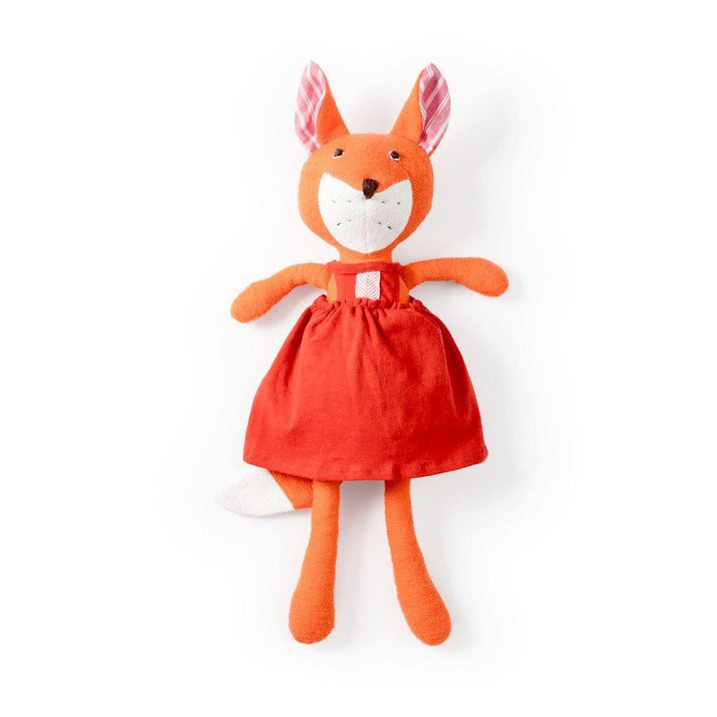 Hazel Village Flora Fox in Strawberry Red Jumper