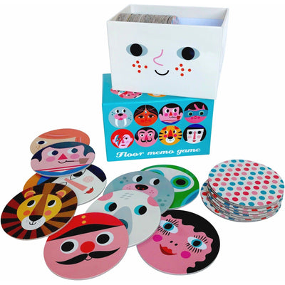 Omm Design Round Floor Memory Game
