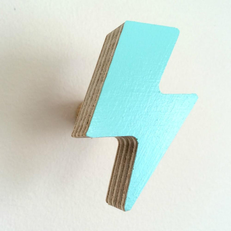 Lightening Bolt Hook - Mint