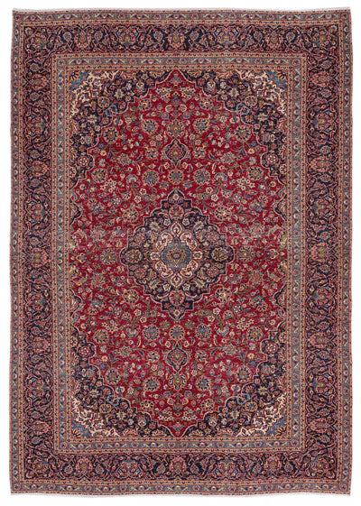 Naturel Over Dyed Vintage XLarge Rug 9'6'' x 13'0'' ft 290 x 397 cm