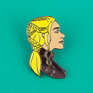 Daenerys Game Of Thrones Enamel Pin - Femfetti