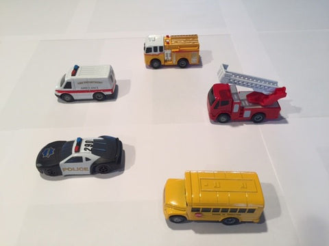 Magnetic Vehicles Combination Set - Item# 173