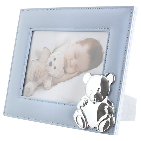 Mayoral Baby Blue Teddy Bear Photo Frame 19217 - Liquorice Kids