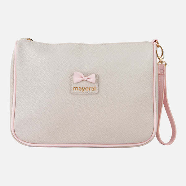 Mayoral Stone & Baby Pink Toiletry Bag 19690