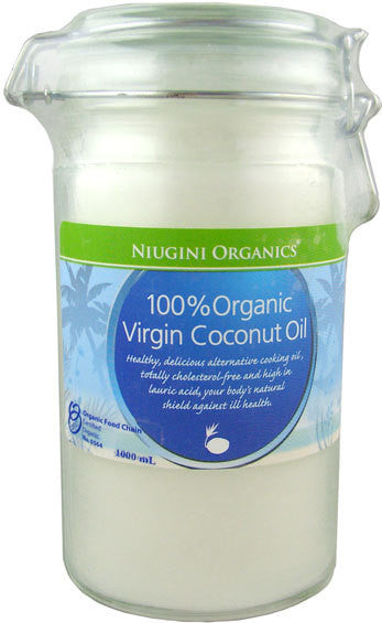 NIUGINI Organics Virgin Coconut Oil